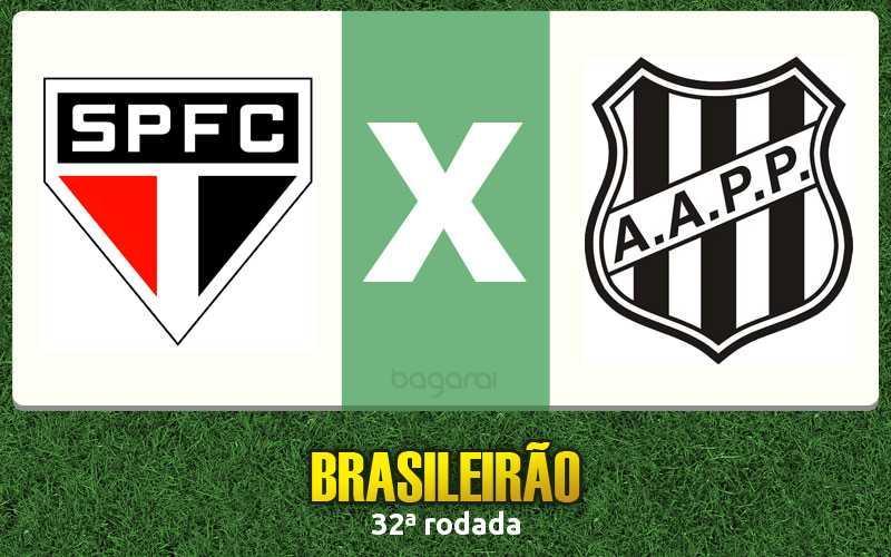 Campeonato Brasileiro 2016: São Paulo FC vence Ponte Preta pela 32ª rodada