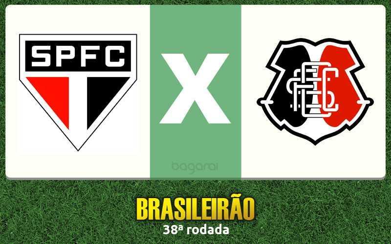 Brasileirão 2016: São Paulo FC goleia Santa Cruz por 5 a 0