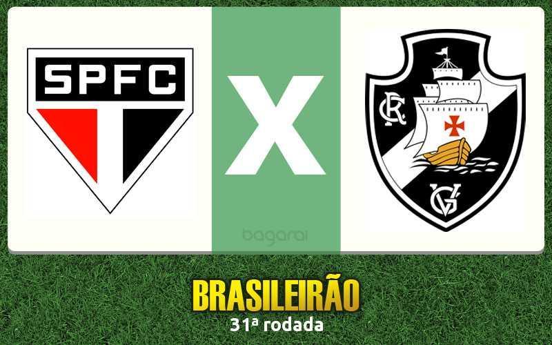 Resultado do jogo: São Paulo FC e Vasco da Gama empatam pelo Campeonato Brasileiro 2015