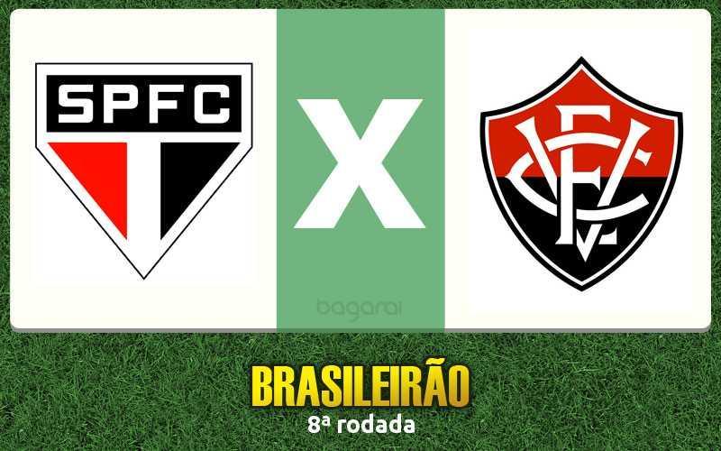 São Paulo FC ganha do Vitória na 8ª rodada do Brasileirão 2016