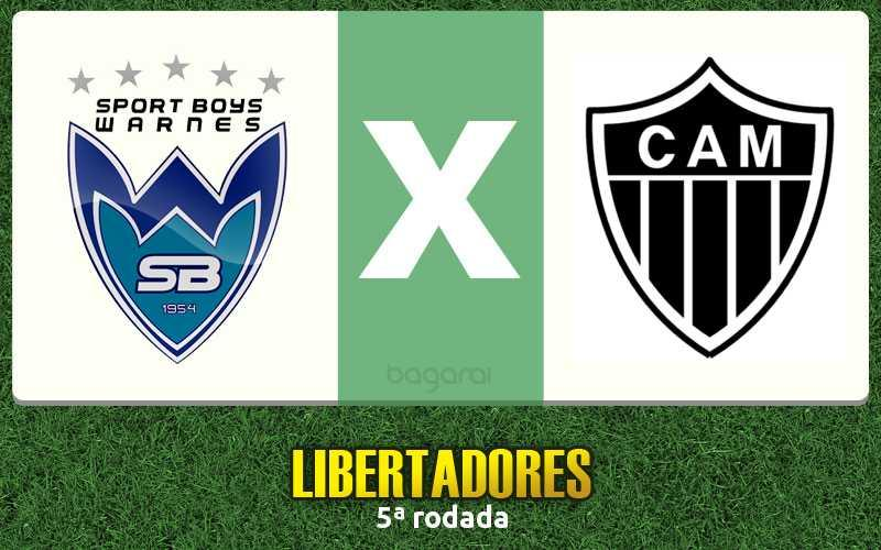 Atlético-MG goleia Sport Boys-BOL pela Libertadores 2017