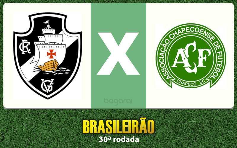 Resultado do jogo: Vasco da Gama e Chapecoense empataram pelo Campeonato Brasileiro 2015