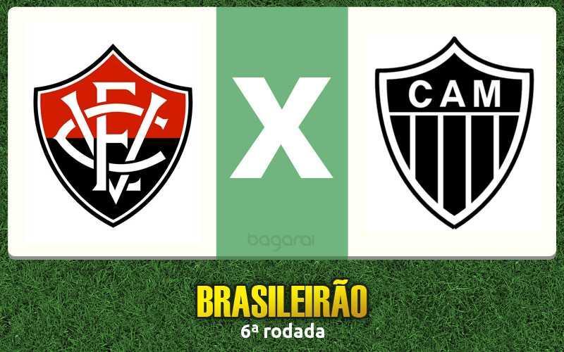 Vitória marca 2 em cima do Atlético Mineiro pelo Brasileirão 2017