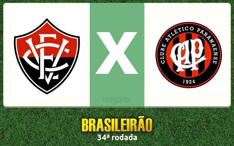 Brasileirão 2016: Vitória faz 3 a 2 no Atlético Paranaense