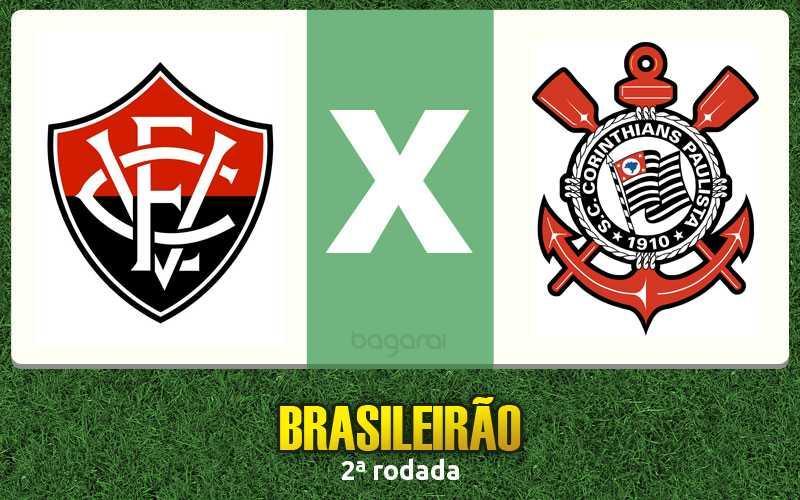 Brasileirão 2016: Vitória ganha do Corinthians na 2ª rodada