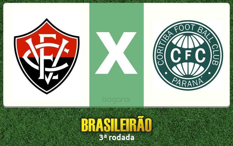 Brasileirão 2017: Coritiba ganha do Vitória por 1 a 0