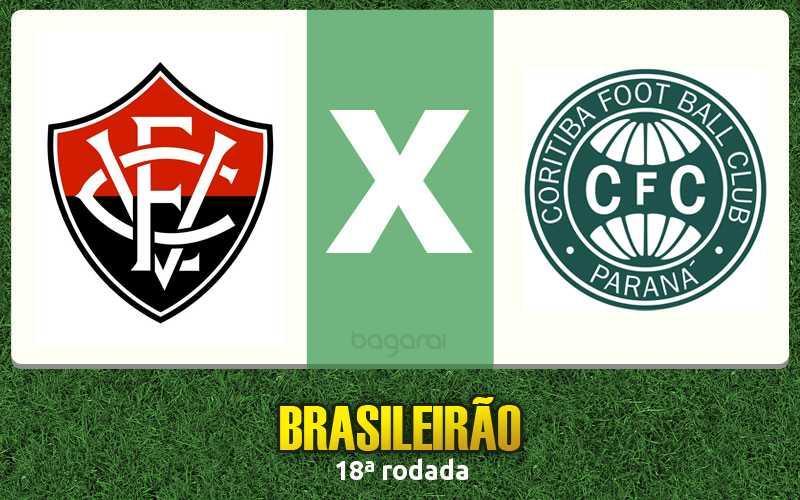 Brasileirão 2016: Vitória marca 3 a 1 no Coritiba