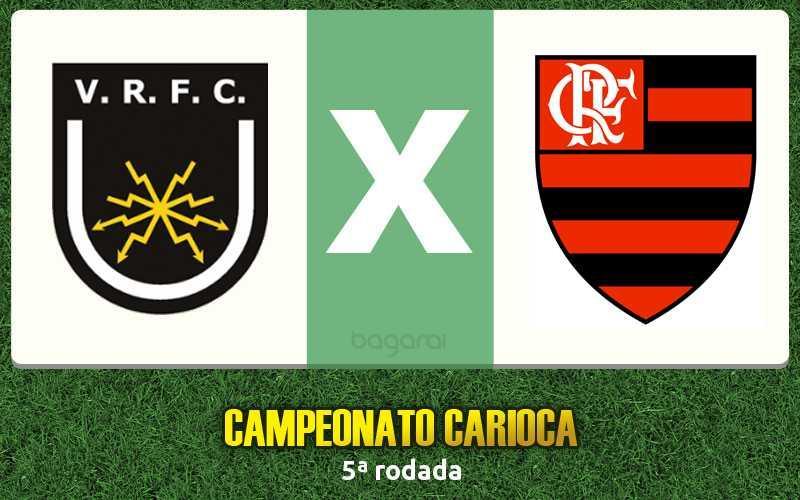 Volta Redonda e Flamengo empatam em 1 a 1 pelo Campeonato Carioca 2017