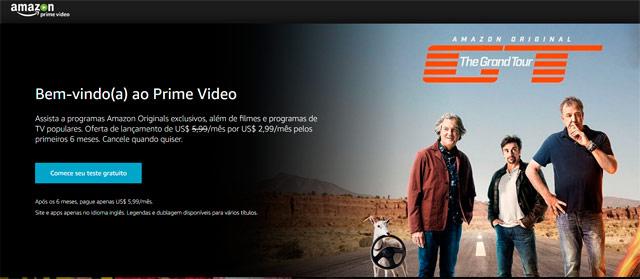 Amazon chega para competir com Netflix Brasil