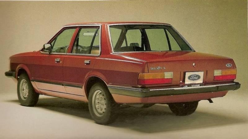 Ford Del Rey 4 portas é um clássico que fez a felicidade de muitas famílias