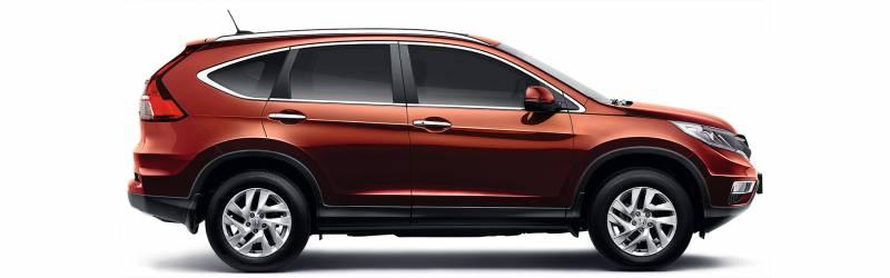 Honda CR-V agrada nos detalhes