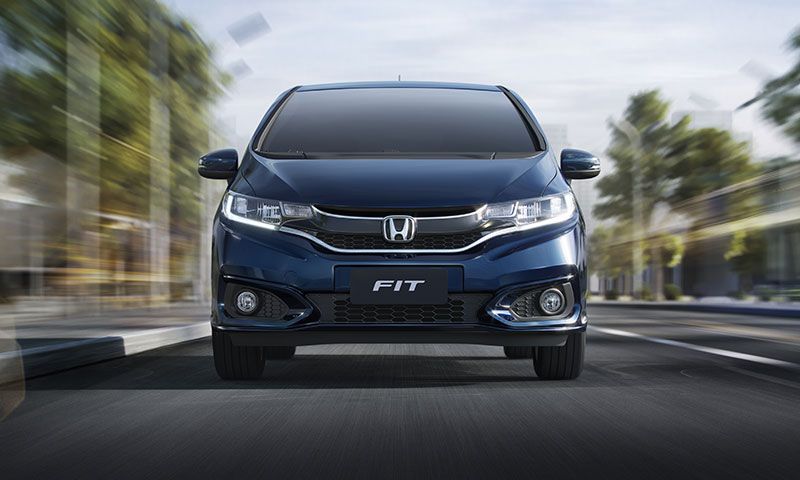Versões do Honda Fit 2018 agrada motoristas