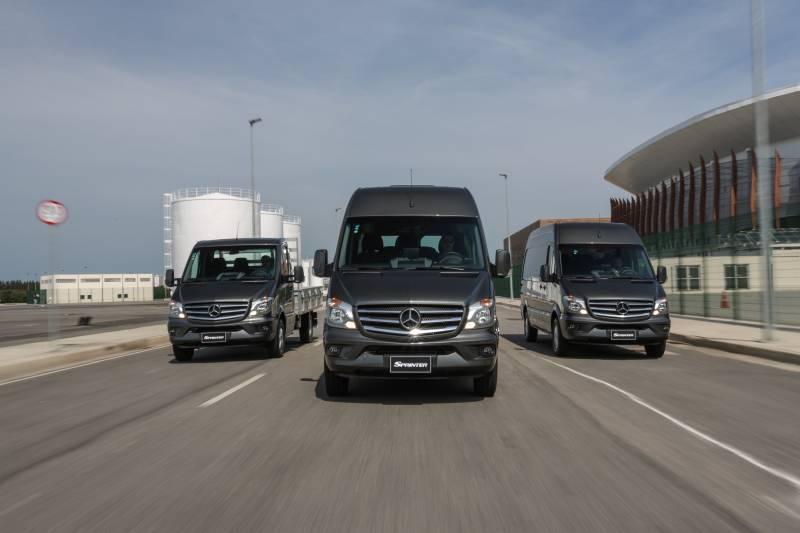 Van Sprinter tem bom preço e liderança de mercado