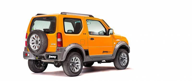 Suzuki Jimny é um 4×4 com preço baixo